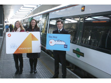Southern and Southeastern's smartcards work across one another's networks allowing passengers to travel with Southern from Tonbridge to Redhill and on to London Bridge