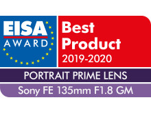EISA Award Sony FE 135mm F1.8 GM