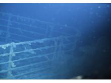 Titanic på 3800 meters djup