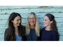 Lisa Långbacka, Lena Willemark och Lisa Rydberg