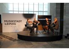 Musikalischer Auftakt durch das Grieg Quartett Leipzig