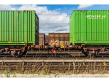 Green  Cargo Hallsbergs godsbangård