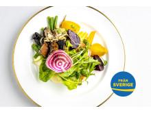 Förrätt Dagligvarugalan 2018 av svenska råvaror