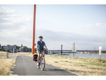 Startpunkt Rheinorange Duisburg ©RuhrtalRadweg