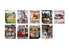 Bonnier Magazines förvärvar nio varumärken av LRF Media.