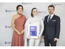 Sangskriver og sanger Jada modtog Kronprinsparrets Kulturelle Stjernedryspris 2019 for med sine sange at åbne for et pop-univers, der gennemsyres af både mod og skrøbelighed.