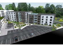 Attendo bygger nytt äldreboende på Johan Kocksgatan