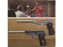 Halle Berry's Beretta 84FS Cheetah from Die Another Day