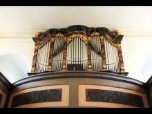 Kirche Störmthal - Hildebrandt-Orgel