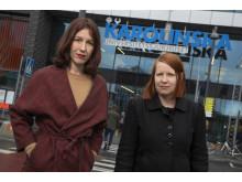 Lisa Röstlund och Anna Gustafsson, nominerade i kategorin Årets Avslöjande 2018