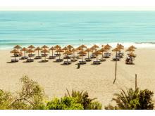 Roquetas de Mar er et populært ferieområde for spanierne selv. Hotellerne ligger i kort afstand til stranden og det varme Middelhavet.