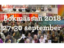 Respekt, Bild och Mediefrågor i fokus vid Bokmässan 2018