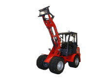 Kompaktlastare - Flexitrac 1238CAB - 03