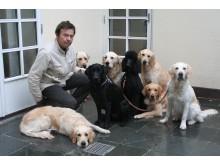 Tor Sannum, daglig leder for Lions Førerhundskole og Mobilitetssenter