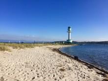 Leuchtturm Friedrichsort Flackensteiner Strand (c)Kiel-Marketing