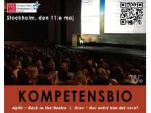Kompetensbio den 11 maj i Stockholm - 2016