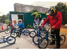 Image from 2018 summer camp - bikes