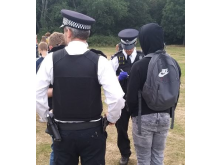 Officers in Wandsworth Common
