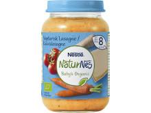 Vegetarisk lasagne från Baby´s Organic