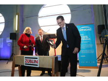Richtfest Heizkraftwerk Gera-Tinz Februar 2018
