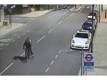 CCTV of two people police want to speak to