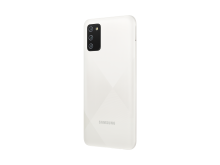 Samsung Galaxy A02s_White_Back_L30