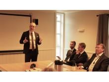 Dagfinn Ringås med olje- og energiministeren