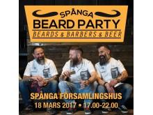 Spånga Beard Party 2017