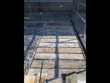 Les couvertures beton installees presentaient des premices de delabrements