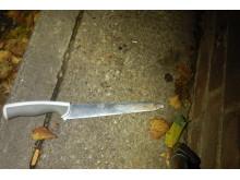 Knife in street
