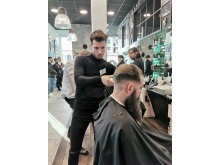 Mardin Said, CXI Barbershop, Karlskrona