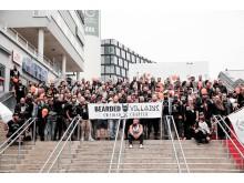 Skäggparad med Bearded Villains på World Beard Day