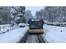 Go North East pulls out all the stops during snow disruption