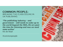 Common People - Kit de Waal quote