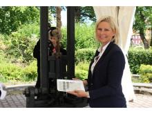 Signingsjubileet_administrerende direktør Samlerhuset_Vibece Furseth_foto_Marte Lise H. Hansen.JPG