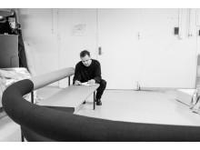 Behind the scenes Matti Klenell