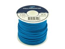 Polyestersilkelinor - Blå spole