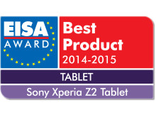 2014 EISA Tablet of the Year Xperia Z2