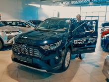 Høy Toyota-etterspørsel i april i Sortland