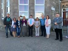 West End Primary Parent Council members welcome new head teacher, Stuart McQuaker