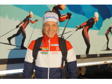 Astrid Uhrenholdt Jacobsen under Kanalrennet i TelemarskVeka 2017.