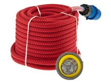 Strömkabel ELLINOR röd med CEE- och Furrion-kontakt
