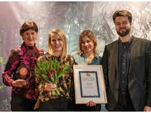 Elmia Spark Award 2019, Sustainable Exhibitor of the Year, Sydved