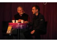 David Safier i samtal med Martin Lind om dålig karma