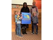 Rønningen Kanvas-barnehage har blitt Miljøfyrtårn.