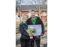Vinnare Årets klimatbonde Magnus och Lena, Nibble gårdsgris