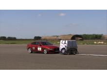 AEB 'Inter Urban' testing - Jaguar XJ