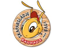 Skaparglädje med BAUHAUS och Baui logotyp