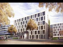ZÜBLIN, SRE, New office building Albstadtweg, Stuttgart