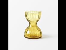 Svenskt_Tenn_Vase_Iris_Glass_Amber_14cm_1